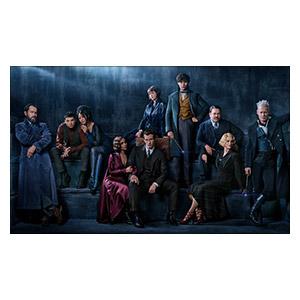 Неформатный постер Fantastic Beasts. Размер: 100 х 60 см